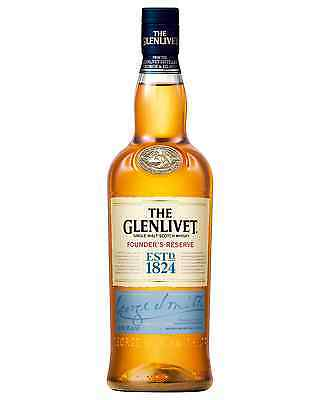 The Glenlivet Founder's Reserve Scotch Whisky 700mL bottle Single Malt Speyside