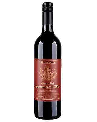Sevenhill Sweet Altar Red Wine case of 6 Sweet Red 750mL Clare Valley
