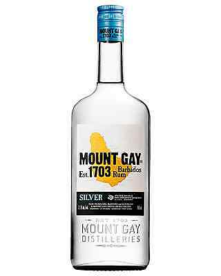 Mount Gay Eclipse Silver Rum 700mL bottle White Rum