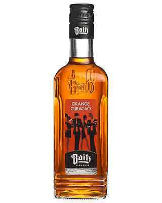 Baitz Orange Curacao Liqueur 500mL bottle Fruit Liqueurs