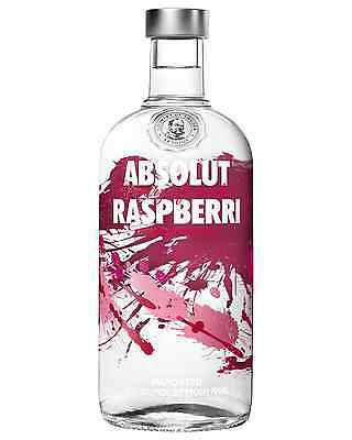 Absolut Raspberri Vodka 700mL case of 6