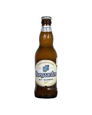 Hoegaarden White Beer 330mL case of 24 International Beer Wheat Beer