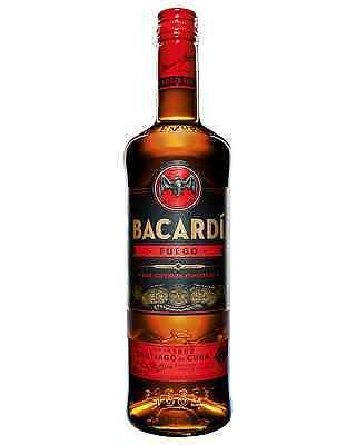 Bacardi Carta Fuego Spiced Rum 700mL case of 6