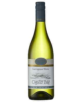 Oyster Bay Sauvignon Blanc bottle Dry White Wine 750mL Marlborough