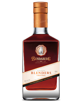 Bundaberg Rum Master Distillers Blenders Edition 700mL case of 6 Dark Rum