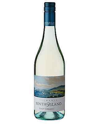 Ninth Island Pinot Grigio case of 6 Dry White Wine 750mL Northern Tasmania