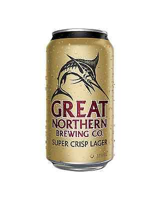 Great Northern Brewing Company Super Crisp Lager Cans 30 Block 375mL case of 30