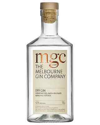 The Melbourne Gin Company Dry Gin 700mL bottle