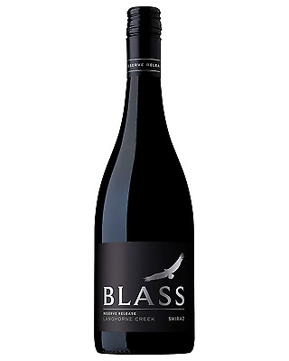 Blass Reserve Shiraz case of 6 Dry Red Wine 750mL Langhorne Creek