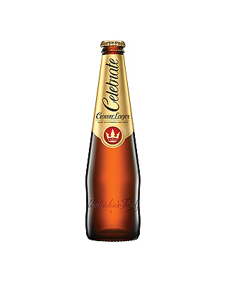 Crown Lager 375mL case of 24 Australian Beer - Premium