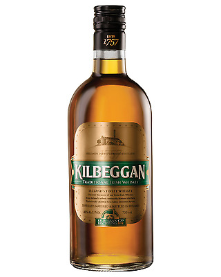 Kilbeggan Irish Whiskey 700mL case of 6