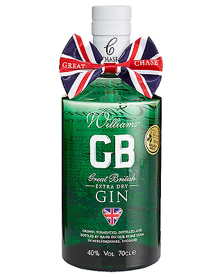 Chase Great British Extra Dry Gin 700mL Williams Chase bottle