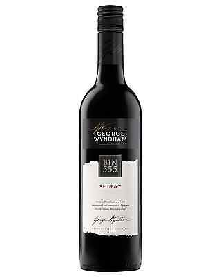 George Wyndham Bin 555 Shiraz case of 6 Dry Red Wine 750mL