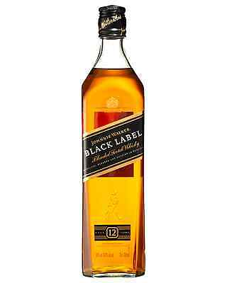 Johnnie Walker Black Label Scotch Whisky 700mL case of 12 Blended Whisky