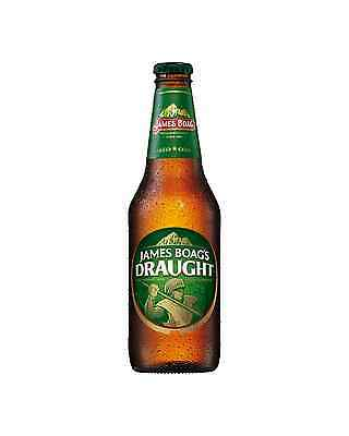 James Boag's Draught Bottles 375mL case of 24 Australian Beer Lager