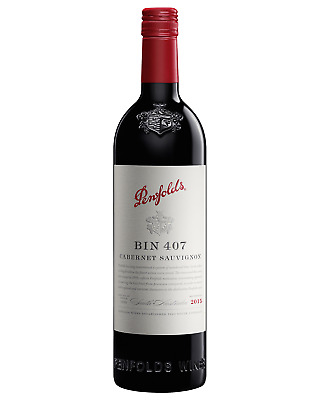 Penfolds Bin 407 Cabernet Sauvignon  2014 bottle Dry Red Wine 750mL