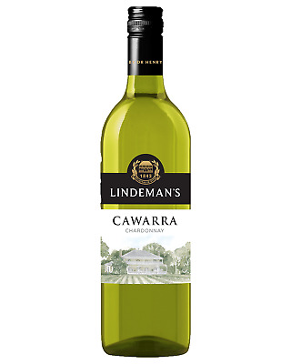 Lindeman's Cawarra Chardonnay bottle Dry White Wine 750mL Murray Darling