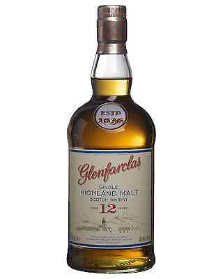 Glenfarclas 12 Year Old Scotch Whisky 700mL bottle Single Malt Speyside