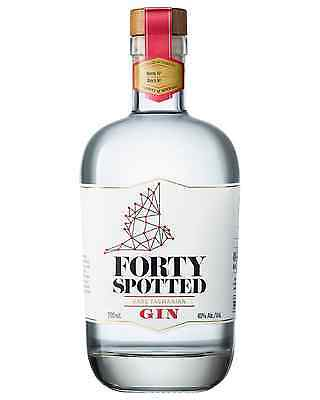 Forty Spotted Rare Tasmanian Gin 700mL case in 6
