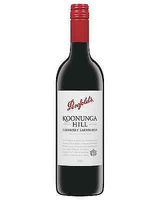 Penfolds Koonunga Hill Cabernet Sauvignon 2012 case of 6 Dry Red Wine 750mL