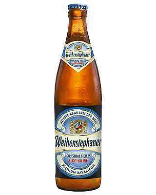 Weihenstephan Alkoholfrie Original Lager 500mL case of 12 Low alcoholic beer