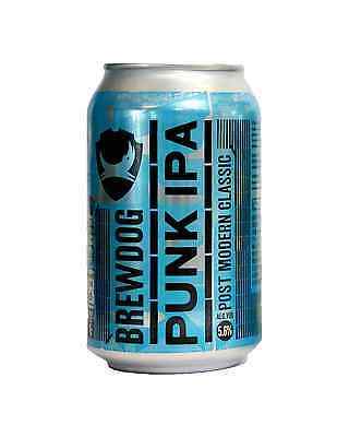 Brewdog Punk IPA Cans 330mL case of 24 Craft Beer India Pale Ale