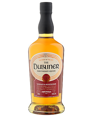 Dubliner Irish Whiskey Liqueur 700mL case of 6 Whisky Liqueurs