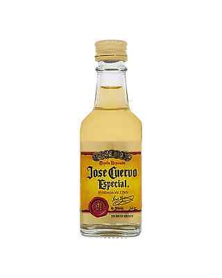 Jose Cuervo Especial Reposado Tequila 50mL bottle