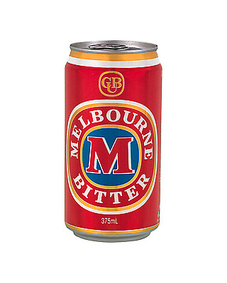 Melbourne Bitter Cans 375mL case of 24 Australian Beer Lager