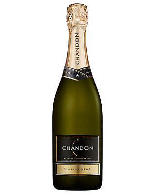 Chandon Vintage Brut case of 6 Pinot Noir Chardonnay Sparkling White Wine 750mL