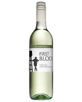 De Bortoli First Block Semillon Sauvignon Blanc case of 6 Dry White Wine 750mL
