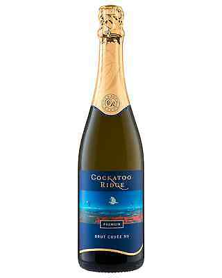 Cockatoo Ridge Sparkling Brut Cuvee case of 6 Sparkling White Wine 750mL