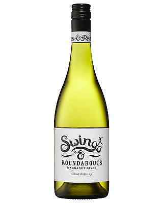 Swings & Roundabouts Chardonnay case of 12 Dry White Wine 750mL Margaret River