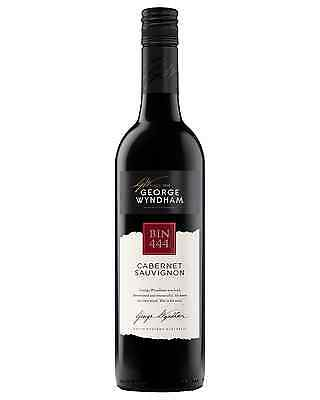 George Wyndham Bin 444 Cabernet Sauvignon case of 6 Dry Red Wine 750mL
