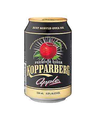 Kopparberg Apple Cider Can 330mL case of 20