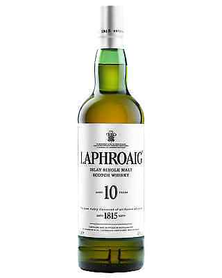 Laphroaig 10 Year Old Scotch Whisky 700mL bottle Single Malt Islay