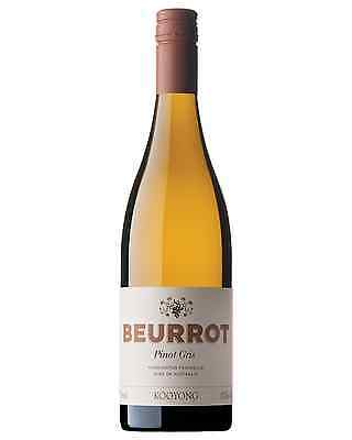Kooyong Beurrot Pinot Gris case of 6 Dry White Wine 750mL Mornington Peninsula