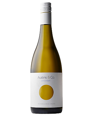 Austins & Co. Chardonnay bottle Dry White Wine 750mL Geelong