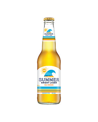 XXXX Summer Bright Lager 330mL case of 24 Low Carb Beer