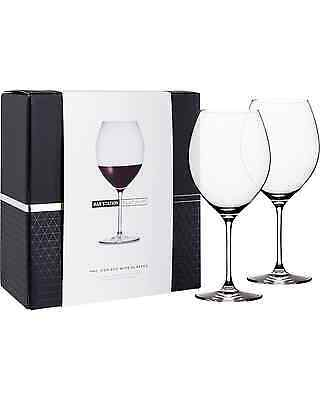 Bar Station Platinum Icon Red Wine Glasses 2 Pack pack (2) Bar Accessories