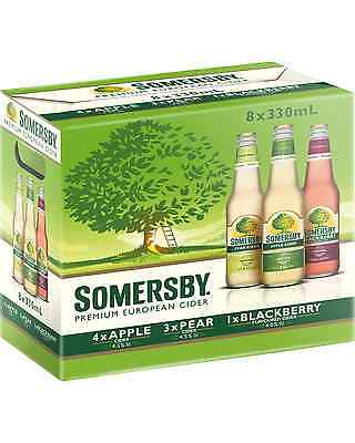 Somersby Mixed Cider 8 Pack 8x330mL