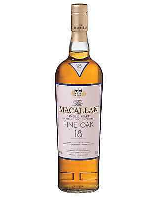 The Macallan 18 Year Old Scotch Whisky 700mL bottle Single Malt Speyside