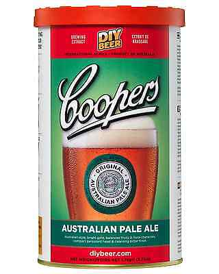 Coopers Home Brew Australian Pale Ale 1.7kg pack Bar Accessories