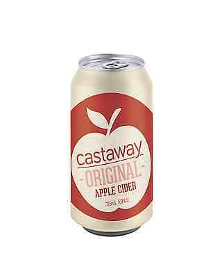 Castaway Original Apple Cider Cans 10 Pack 375mL case of 30