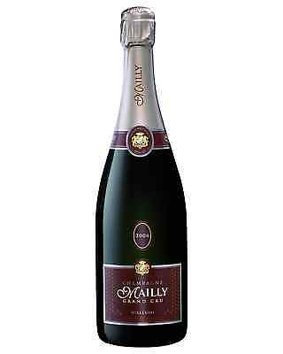 Champagne Mailly Grand Cru Brut Vintage case of 6 Pinot Noir Chardonnay Wine