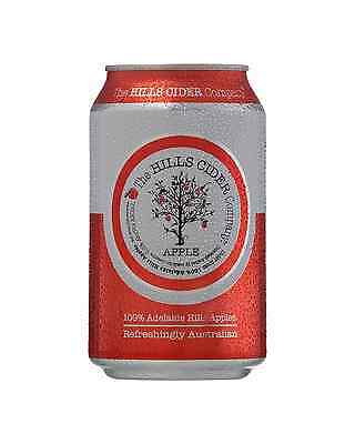 The Hills Cider Company Apple Cider Cans 330mL case of 24
