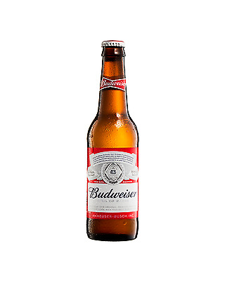 Budweiser Beer 355mL case of 24 International Beer Lager