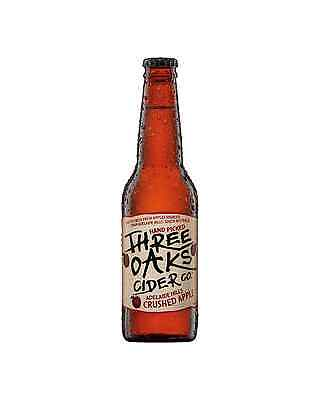 Three Oaks Cider Co. Crushed Apple Cider 330mL case of 24