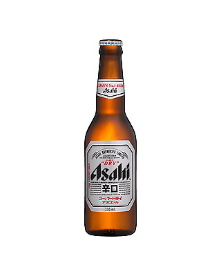 Asahi Super Dry 330mL case of 24 International Beer Lager