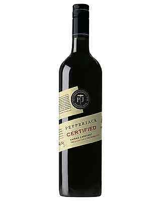 Pepperjack Certified Shiraz Cabernet case of 6 Dry Red Wine 750mL Barossa Valley